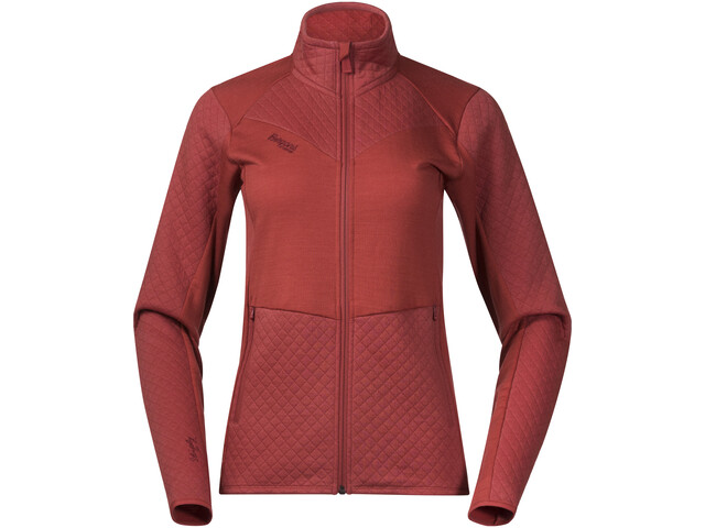Bergans Middagstind Jacket Women Lounge/Bordeaux